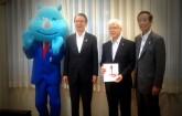 Donation from Kansai Urban Banking Corporation