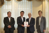 Donation from Kansai Mirai Bank, Limited